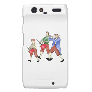 FIFE AND DRUM BAND DROID RAZR COVER