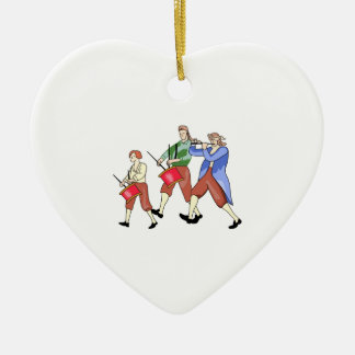 FIFE AND DRUM BAND CHRISTMAS ORNAMENT