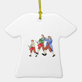 FIFE AND DRUM BAND CHRISTMAS TREE ORNAMENTS