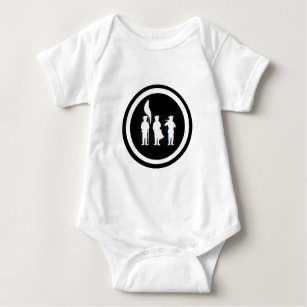 baby plymouth onesies bodysuits zazzle co uk 1970 Dodge Duster 340 fife and drum corps silhouette apparel baby bodysuit
