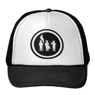 Fife and Drum Corps Silhouette Apparel Mesh Hat