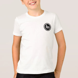 Fife and Drum Corps Silhouette Kids T-Shirt