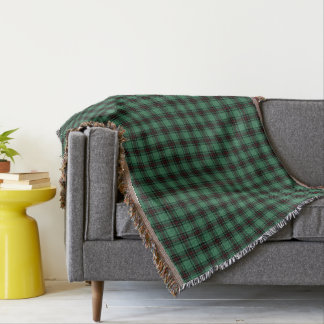 Fife District Tartan Throw Blanket