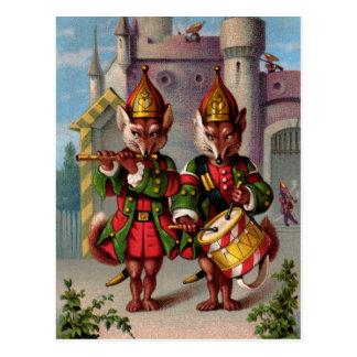 Fife Drum Foxes Postcards