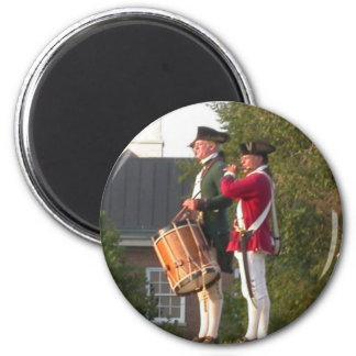 Fife & Drum Refrigerator Magnets