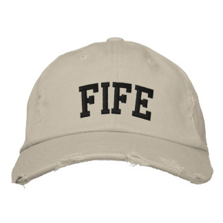 Fife Embroidered Hat Baseball Cap