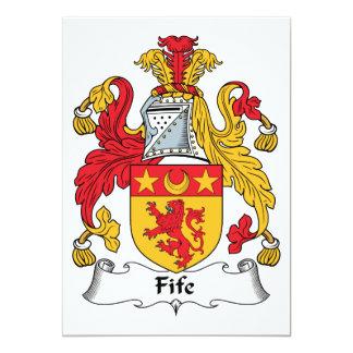 Fife Family Crest Custom Invitation