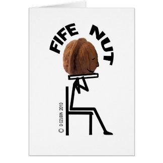 Fife Nut Greeting Card