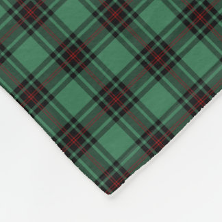 Fife Scotland District Tartan Fleece Blanket