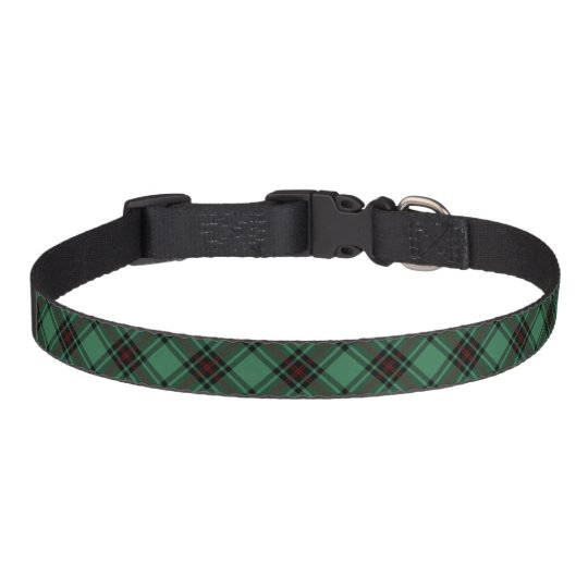 Fife Scotland District Tartan Pet Collar