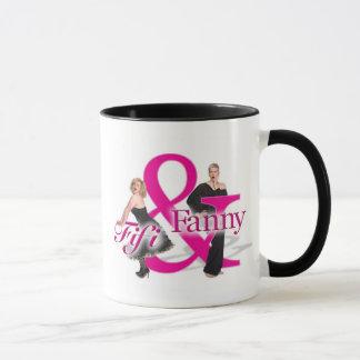 Fifi & Fanny Logo mug - with black highlights
