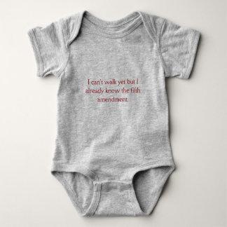 Fifth Amendment Baby Bodysuit