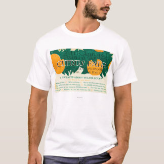 Fifth Annual Tulare County Citrus Fair Promotion T-Shirt