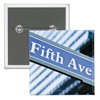 Fifth Avenue Pinback Button