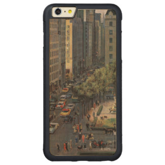 Fifth Avenue by John Falter Carved® Maple iPhone 6 Plus Bumper Case