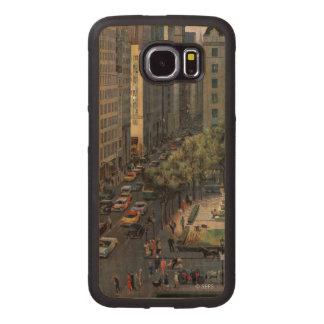 Fifth Avenue by John Falter Wood Phone Case