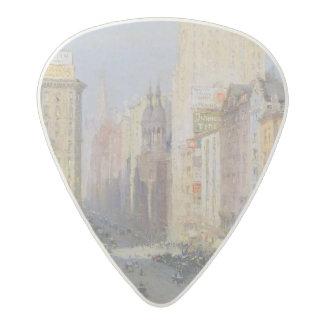 Fifth Avenue, New York, 1913 Acetal Guitar Pick