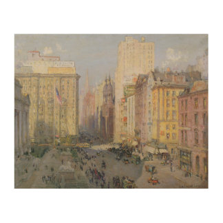 Fifth Avenue, New York, 1913 Wood Wall Art