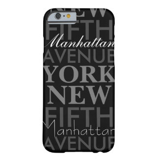 Fifth Avenue New York Barely There iPhone 6 Case
