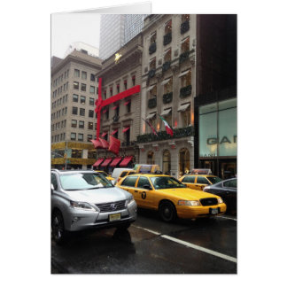 Fifth Avenue New York City Christmas Cards