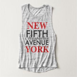 Fifth Avenue New York Tank Top