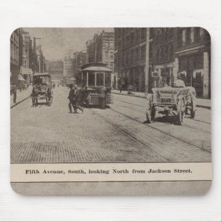 Fifth Avenue S Harbor front Mouse Pad