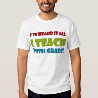 Fifth Grade Teacher T Shirt
