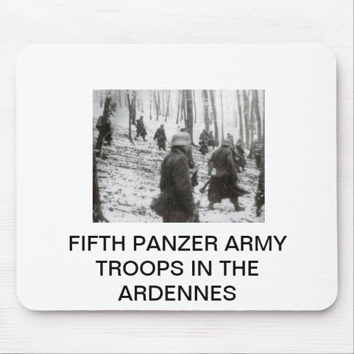 FIFTH PANZER ARMY SOLDIERS MOUSEPAD