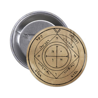 Fifth Pentacle of Saturn Button