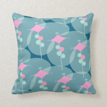 Fifties Bubble Boomerang Cushion