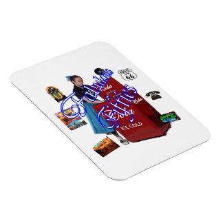 Fifties Memorbilia icons Rectangular Photo Magnet