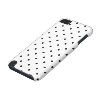 Fifties Style Black and White Polka Dot iPod Touch 5G Cases