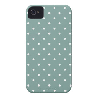 Fifties Style Blue Polka Dot Iphone 4/4S Case