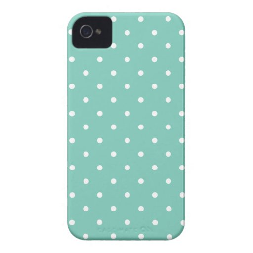 Fifties Style Cockatoo Polka Dot iPhone 4S Case iPhone 4 Case