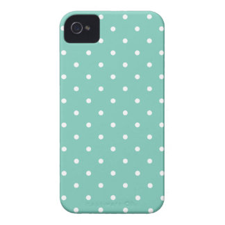 Fifties Style Cockatoo Polka Dot iPhone 4S Case Case-Mate iPhone 4 Case