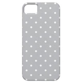 Fifties Style Grey Polka Dot iPhone 5 Case