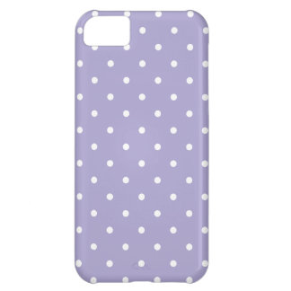 Fifties Style Lavender Polka Dot iPhone Case