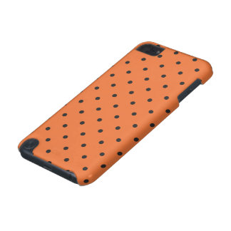 Fifties Style Orange Polka Dot iPod Touch (5th Generation) Case