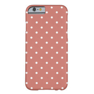 Fifties Style Pink Polka Dot iPhone 6 case