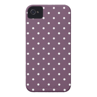 Fifties Style Purple Polka Dot Iphone 4/4S Case