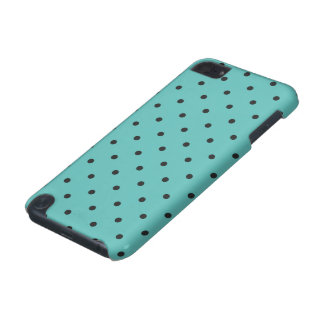 Fifties Style Turquoise Polka Dot iPod Touch (5th Generation) Case