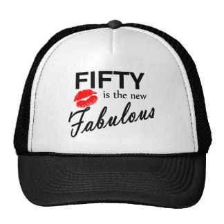 Fifty Is The New Fabulous Mesh Hats