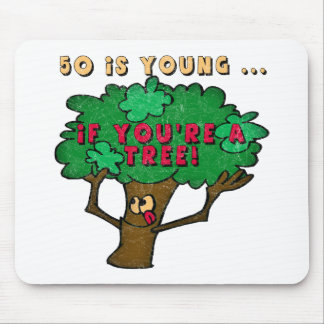 Fifty Is Young 50th Birthday Gifts Mouse Pad