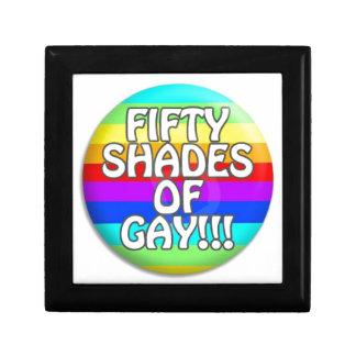 FIFTY SHADES OF GAY MULTI SHADE GIFT BOX