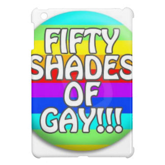 FIFTY SHADES OF GAY MULTI SHADE iPad MINI COVERS