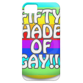 FIFTY SHADES OF GAY MULTI SHADE iPhone 5 CASE