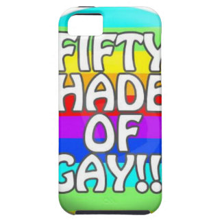 FIFTY SHADES OF GAY MULTI SHADE iPhone 5 CASES