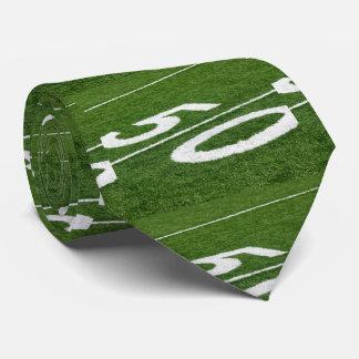 Fifty Yard Line Football Tie