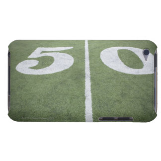 Fifty yard line on sports field iPod touch covers