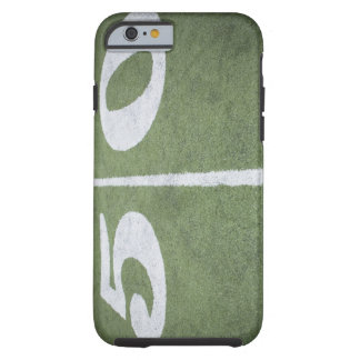 Fifty yard line on sports field tough iPhone 6 case